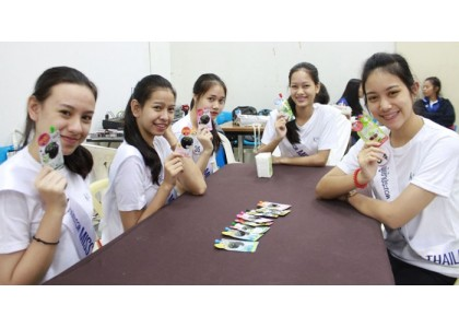 Be Pretty Co., Ltd. joined the workshop activity of MISSTEEN THAILAND 2018
