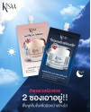 Overnight Bright And Radiant Sleeping Mask 7 ml. (1 box containing 6 sachets)